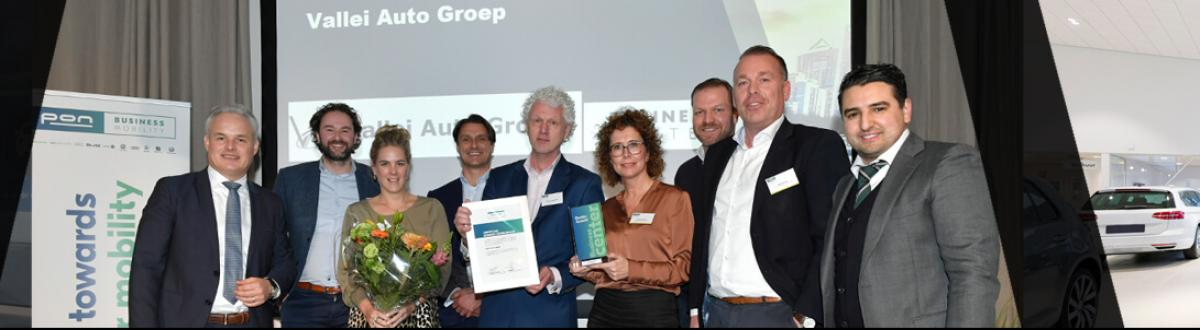 Business Center Vallei Auto Groep ontvangt award