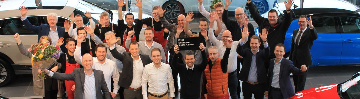 Vallei Auto Groep Audi Excellent Dealer 2020