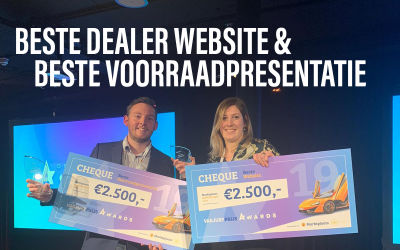 Winnaar #ONLINEDEALERAWARDS